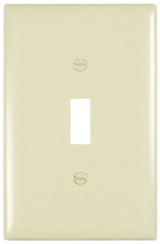 BehrElectricCompany-Light Almond Wall Plate
