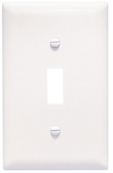 BehrElectricCompany-White Wall Plate